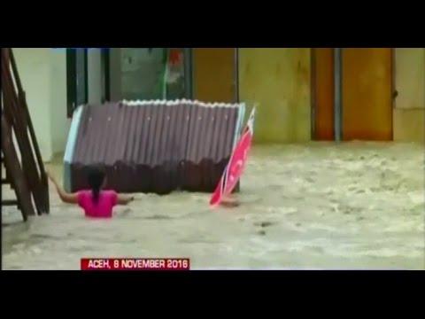 Banjir Bandang Setinggi 1 Meter Terjang Aceh Jaya, Ribuan Rumah Warga Terendam - BIP 09/11