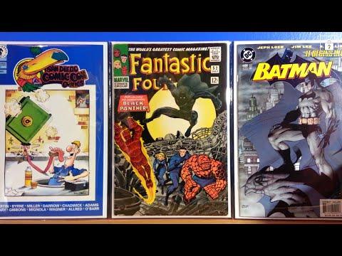 COMIC BOOK KEY ISSUE HAUL HEROHUNTER STYLE!