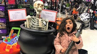 Shopping for Holloween Dress-up!!