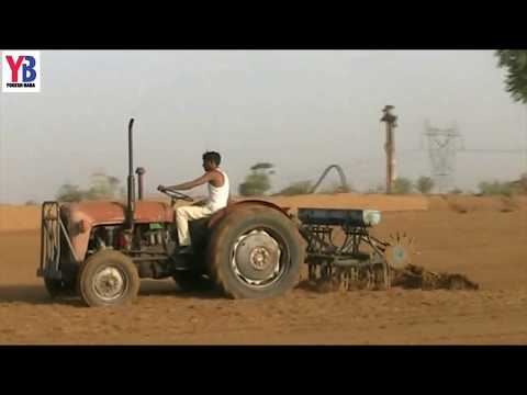 Indian agriculture tractor. Agriculture technology of india