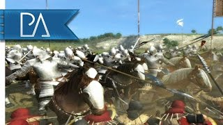 Crossing of Poros: Gondor & Rohan Stand United - Third Age Total War Mod Gameplay