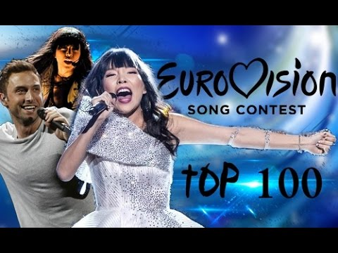 Top 100 Eurovision Songs (2004-2016)