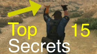 MGSV Phantom Pain - Top 15 Game Secrets Metal Gear Solid 5
