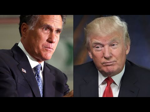 Donald Trump, Mitt Romney in War of Words