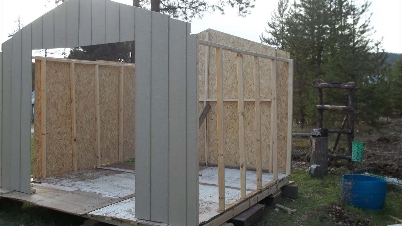 Shed Packages Home Depot