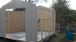Building The 10x10 Shed Kit / Chicken Coop Part # 1 From  (home Depot)