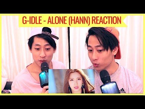 (G)I-DLE ALONE HANN 한(一) MV REACTION (TWINS REACT)