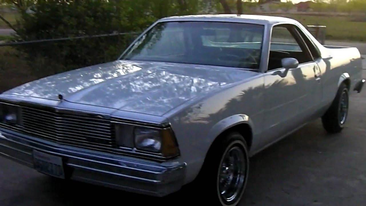 El camino lowrider 1980
