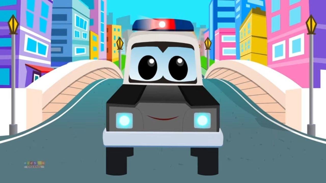 Police Car Nursery Rhyme For Children