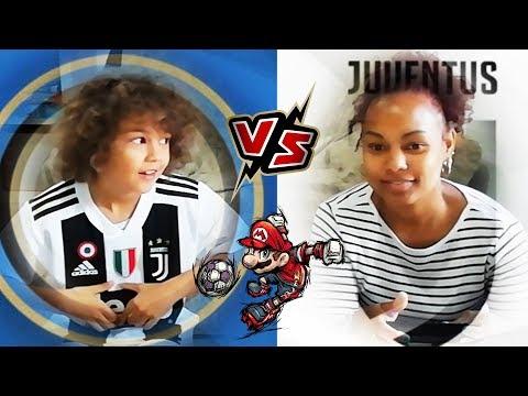 INTER VS JUVENTUS (Mario Sonic Calcio GamePlay) *gioco nell\'Inter con la maglia della Juve*