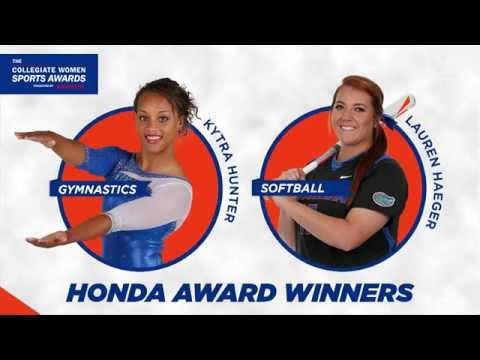 Florida Gators: Honda Award Winners On-Field Recognition 9-26-15