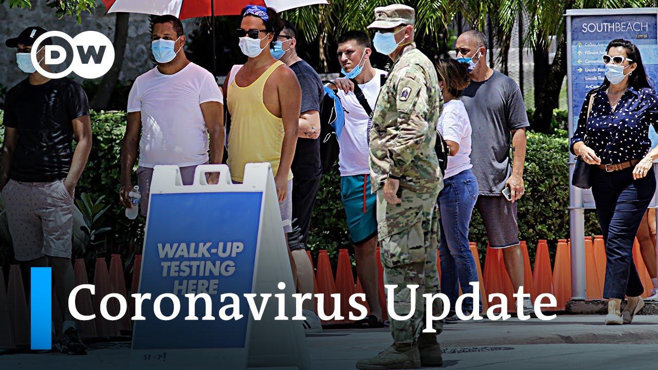 Lockdown in den USA und England   Coronavirus Nachrichten zur aktuellen Lage