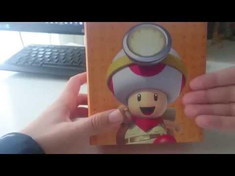 Φωτιστικό Captain Toad από Club Nintendo (Unboxing)