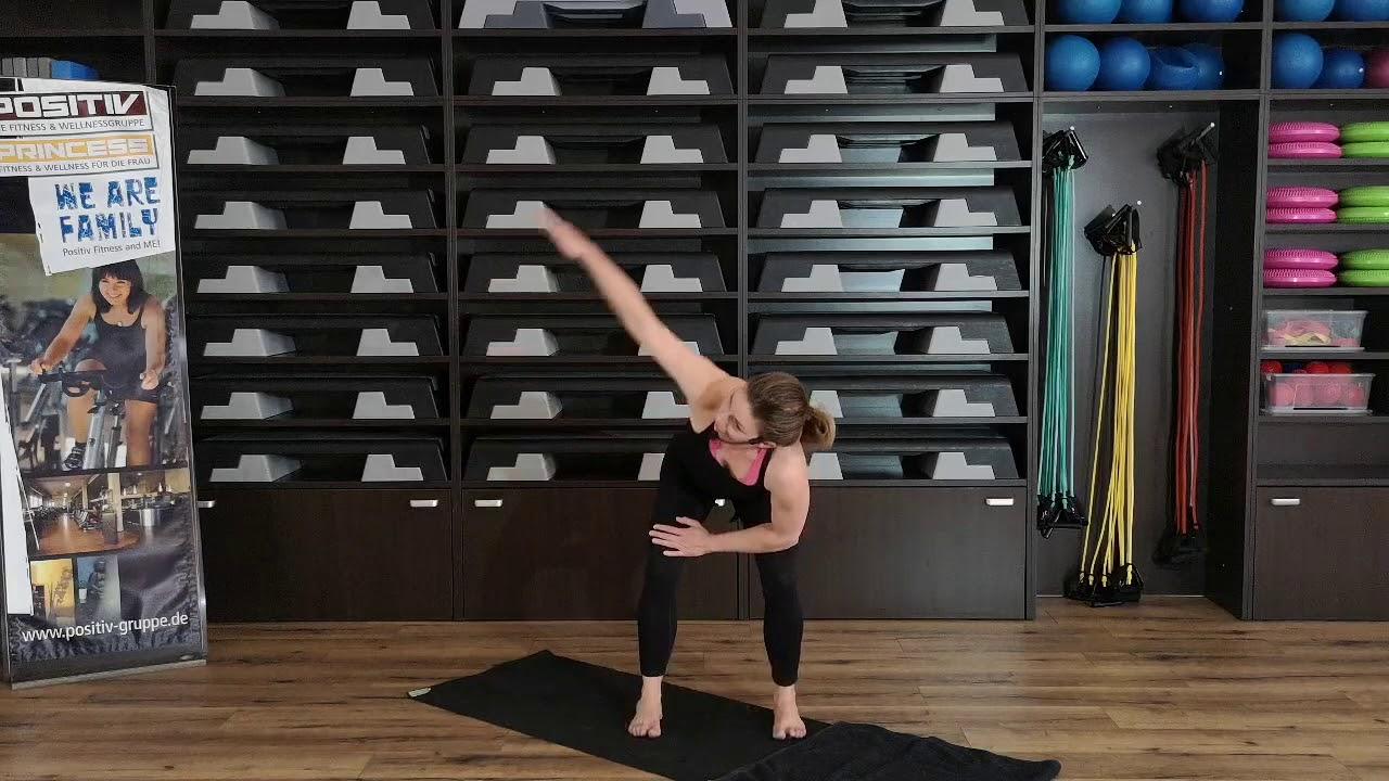 Positiv Fitness Bodyart Workout Mit Kerstin Youtube