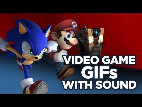 Video Game GIFs with Sound