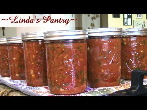 ~Canning Salsa With Linda's Pantry~