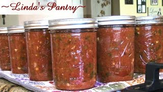 ~Canning Salsa With Linda