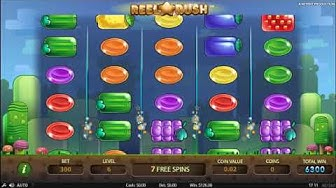 Reel Rush Slot - 8 Free Spins BIG WINS!