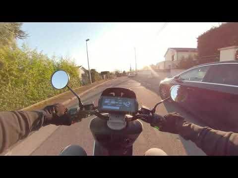 Essai 2019 Niu N GT à Lyon ches Le Scooters de Fratello