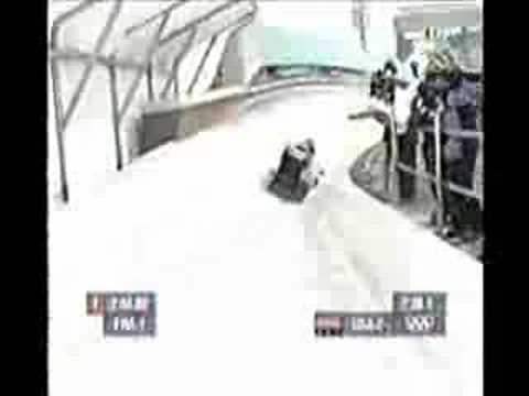 National Guard 2002 Bobsled video