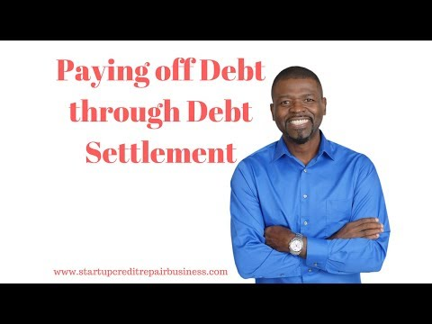 Paying off Debt through Debt Settlement