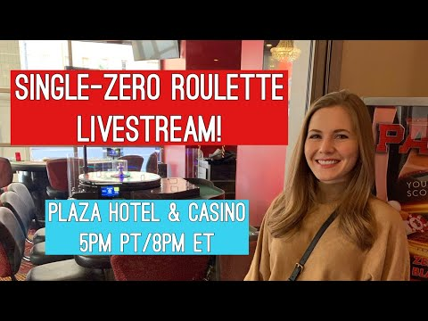 FIRST EVER Single-zero Roulette Livestream!! $1000 Buy-in!