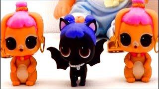 Куклы LOL PETS Обзор для детей Unboxing LOL Сюрприз игрушки Бабушкины сказки