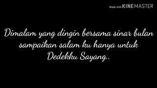 (Dedekku Sayang lirik)-Cover Dimas Gepenk