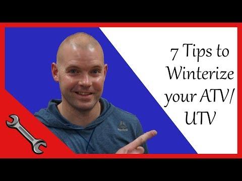 How to Winterize your ATV or UTV