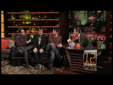 Wil Anderson and The Chaser team on ROVE - 60 guests in 60 minutes world record attempt
