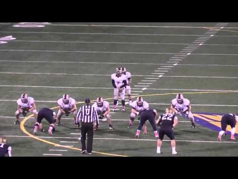 Carnegie Mellon Football Highlights at Thiel - YouTube