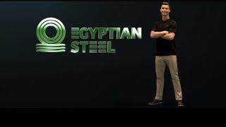 اعلان رونالد حديد المصريين جيل جديد من حديد
