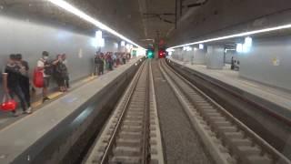 台鐵 高雄地下段鐵路 開通首日 3212次EMU800區間電聯車 後庄 - 新左營 路程景 thumbnail