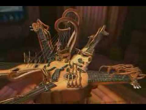 Animusic. Супер музыкальный инструмент!