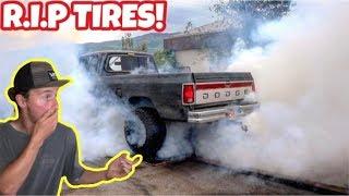 cummins-destroys-tires-from-crazy-burnout