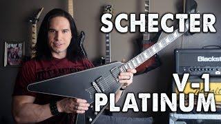 Schecter V-1 Platinum - Demo / Review