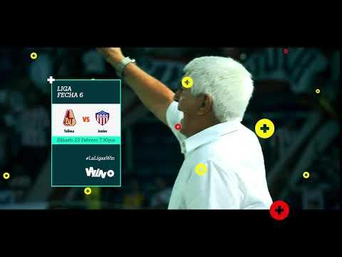 Tolima vs. Junior por Win Sports +