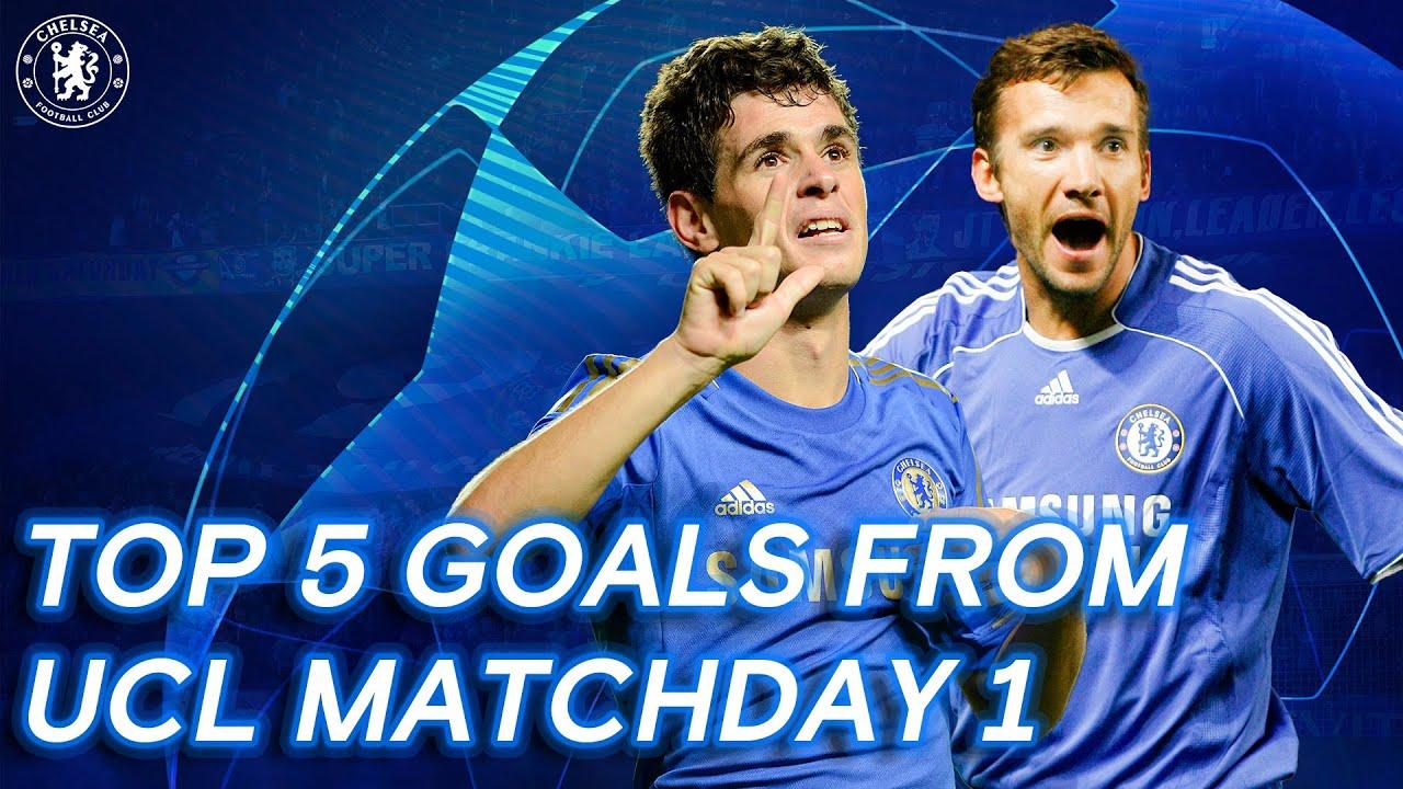 Chelsea's Best Champions League Match-day 1 Goals ft. Shevchenko, Oscar & More
