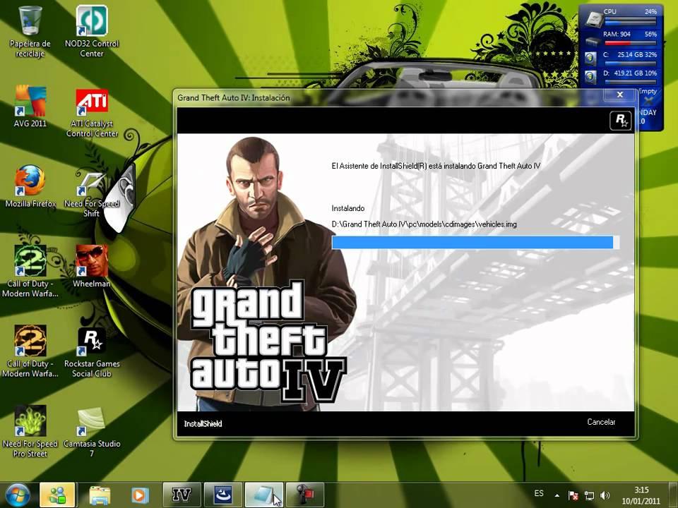 como descargar gta 4 para pc windows 7