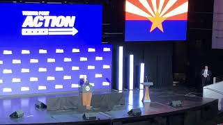 President Trump Speaks At Turning Point Action in Phoenix