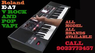 Roland E-A7 Arranger keyboard Review & all Sounds