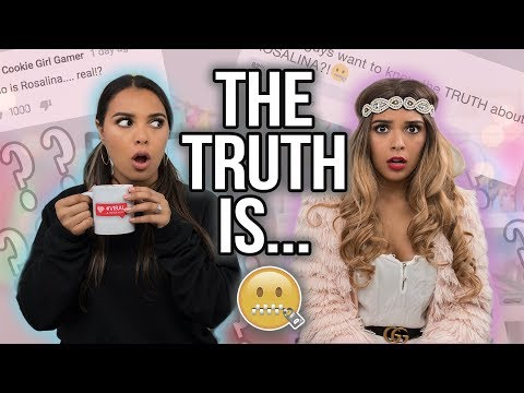 ARE WE REALLY TWINS REVEALED!! ft. Rosalina + ANNOUNCEMENT!