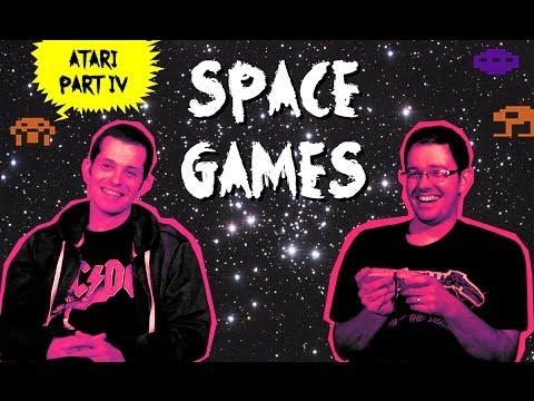 "Atari Video Game (Part 4) ""Space Games"" - James & Mike Mondays"