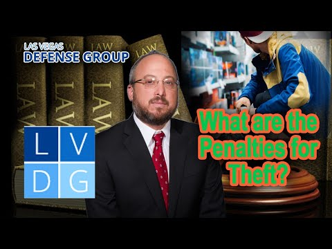 Fighting Charges of Shoplifting in Nevada