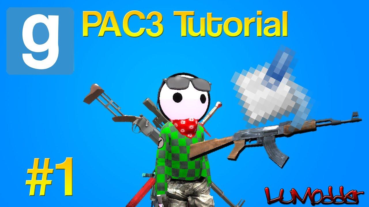 Flex's PAC3 Tutorials - Episode 1: Custom Weapon Textures