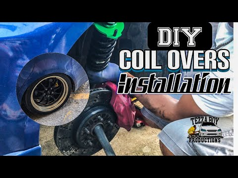 Coil Overs/Suspension Install on a 2008 Lexus IS250 (Diy)