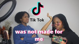 LEARNING VIRAL TIKTOK DANCES | THAT AFRICAN CHIC