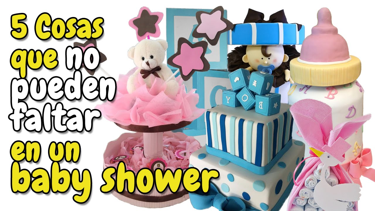 cosas que no pueden faltar en tu baby shower hd youtube