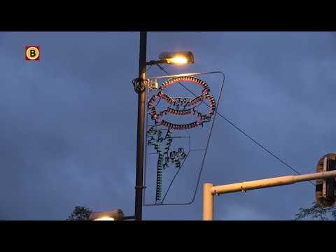 Honderdduizenden lampjes opgehangen in Eindhoven
