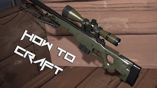 How to craft the AWP in Team Fortress 2